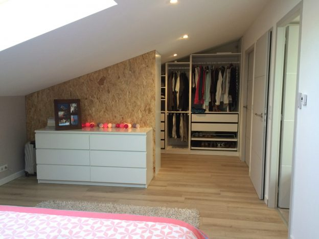 Am nagement de combles perdus suite parentale renov it for Amenagement suite parentale combles